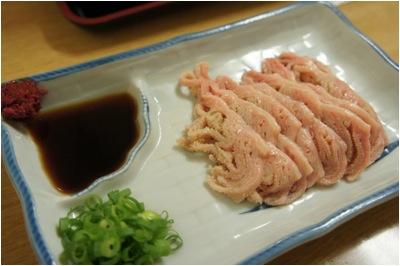 肉料理カオリちゃん 白センマイ 生セン