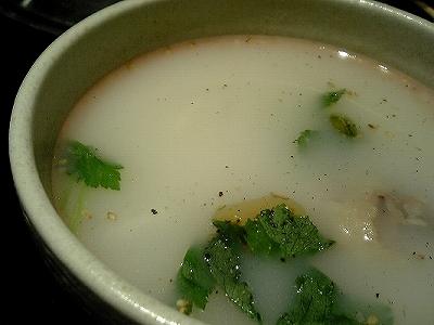 きらく亭 コムタンスープ