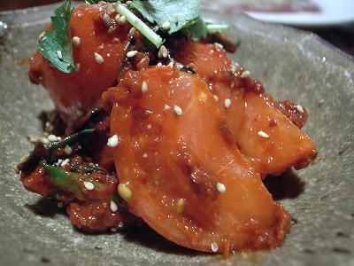 LeeCook トマトのキムチ