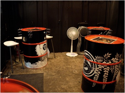 まるに ドラム缶