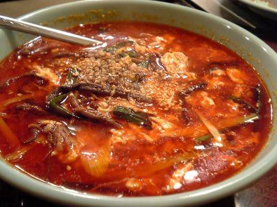 静龍苑 テグタンスープ