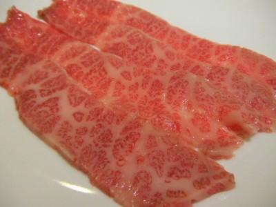 松阪牛肉焼 つる屋 牛刺